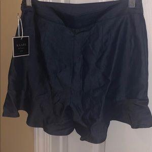 Kaari Blue shorts.